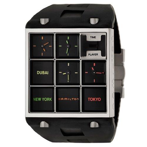 Hamilton American klassisch geformte timeplayer Quarz h51511331