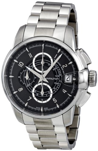 Hamilton Railroad Auto Chrono Silver H40616135 Watch