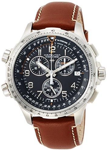 Hamilton Ritter Quarzo Cronometro Gurt Leder Ref h77912535