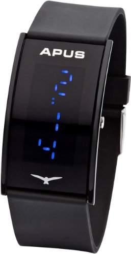 APUS Gamma Black Blue AS-Ga-BB LED Uhr Sehr leicht