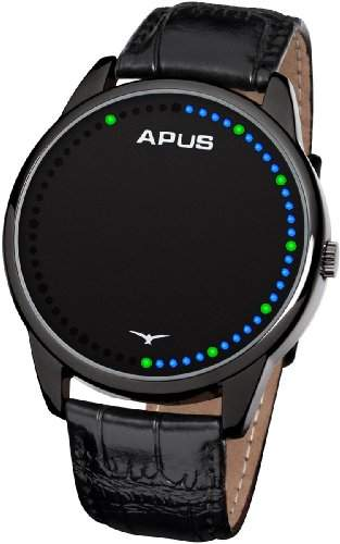 APUS Theta Black Blue Green AS-BBG Unisex Digitaluhr Analoge Zeitanzeige