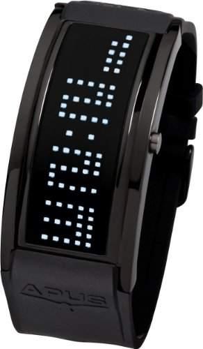 APUS Iota AS-IO-BL-WH Digitaluhr für Herren Programmierbare Laufschrift