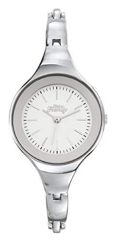 Trendy-Miss KL298 Maedchen-Armbanduhr Analog Metall Grau