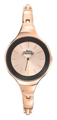 Trendy-Miss KL300 Maedchen-Armbanduhr Analog Metall, Rosa