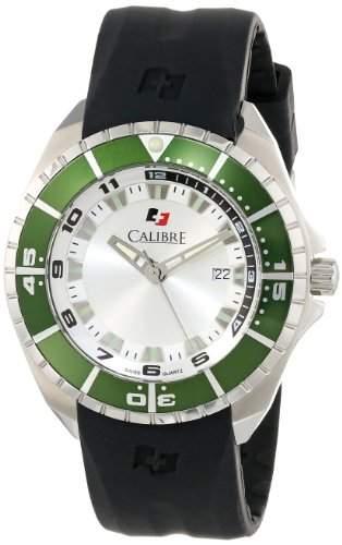 Calibre Herren SC-4S2-04-0016 Sea Knight Analog Display Quartz Black Armbanduhr