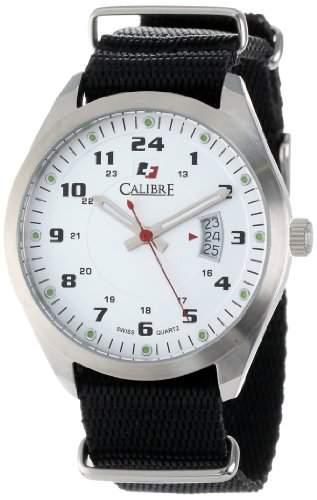 Calibre Herren Trooper White Dial Armbanduhr
