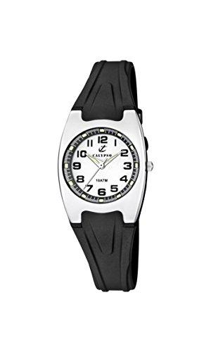 Calypso Maedchen Armbanduhr Analog Quarz Plastik K6042 F