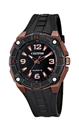 Calypso watches Herren Armbanduhr XL K5634 Analog Quarz Plastik K5634 9