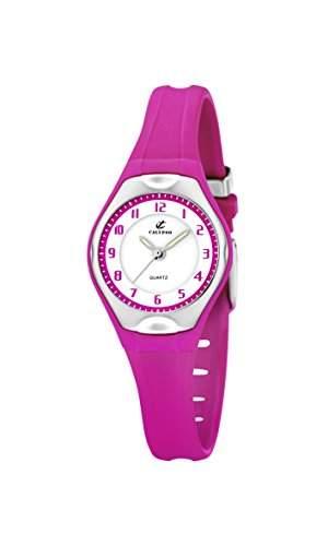 Calypso watches Maedchen-Armbanduhr Analog Kautschuk K5163K