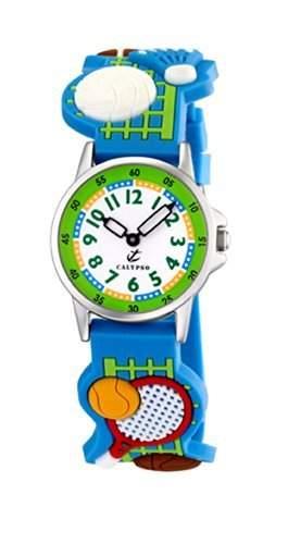 Calypso Kinder - Armbanduhr Unisex Analog Quarz Sport Blau K52346