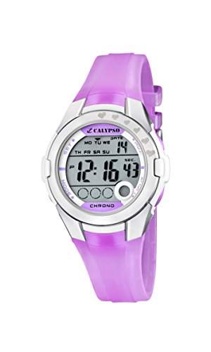 Calypso watches Damen-Armbanduhr K5571 Digital Quarz Plastik K55713