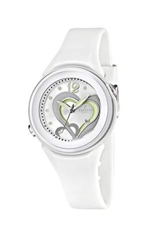 Calypso watches Maedchen-Armbanduhr Analog Kautschuk K55761