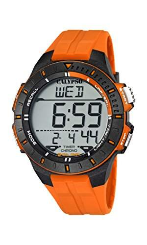 Calypso watches Herren-Armbanduhr Digital Quarz Plastik K56071