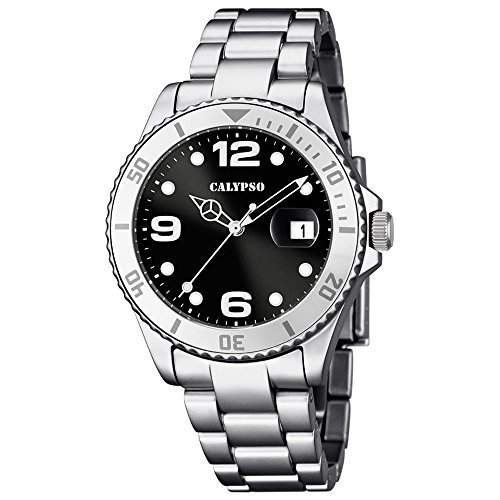 Calypso Damen-Armbanduhr Analog Quarz Plastik K56465