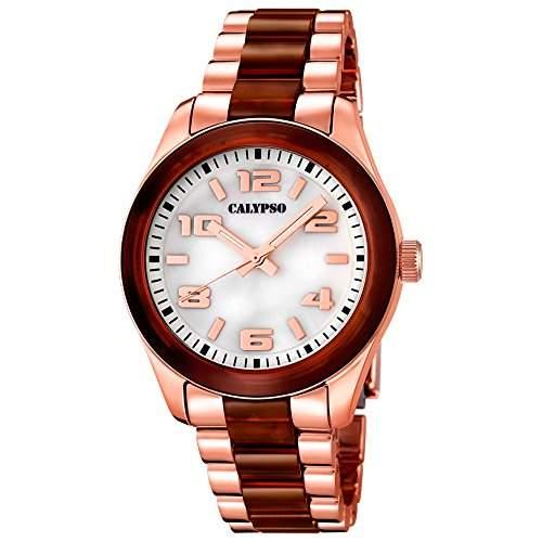 CALYPSO Damen-Uhr - Trend - Analog - Quarz - Kunststoff - UK56486