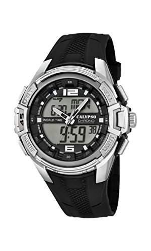 Calypso watches Herren-Armbanduhr XL Analog-Digital Quarz Plastik K56551