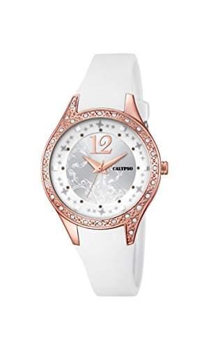 Calypso Damen-Armbanduhr Analog Quarz Plastik K56601