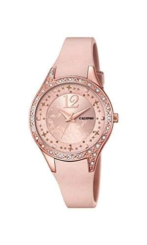 Calypso Damen-Armbanduhr Analog Quarz Plastik K56602