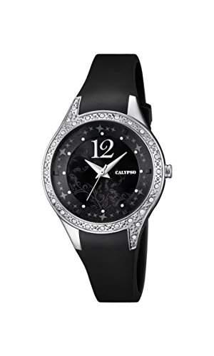 Calypso Damen-Armbanduhr Analog Quarz Plastik K56604