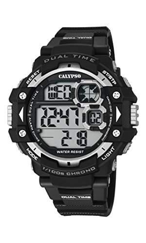 Calypso Herren-Armbanduhr Digital Quarz Plastik K56741