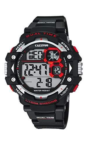 Calypso Herren-Armbanduhr Digital Quarz Plastik K56742