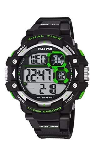 Calypso Herren-Armbanduhr Digital Quarz Plastik K56745