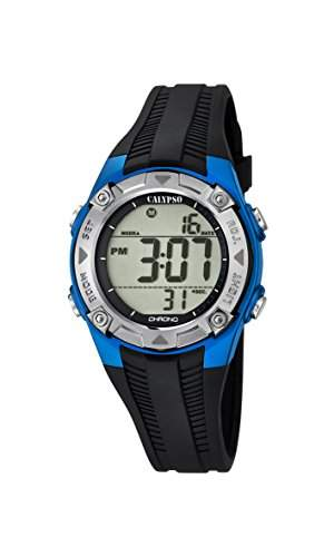 Calypso Jungen-Armbanduhr Digital Quarz Plastik K56855