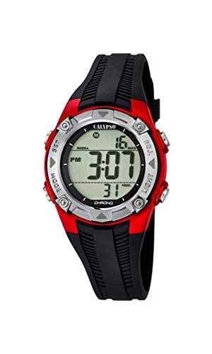 Calypso Jungen-Armbanduhr Digital Quarz Plastik K56856