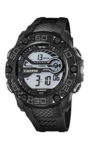Calypso Herren-Armbanduhr Digital Quarz Plastik K56918