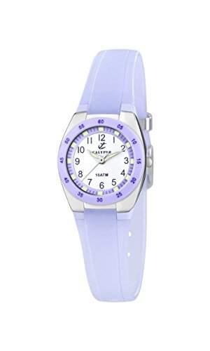 Calypso watches Maedchen-Armbanduhr Analog Kautschuk K6043E