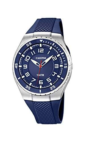 Calypso watches Jungen-Armbanduhr Analog Quarz Plastik K60632