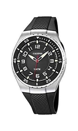 Calypso watches Jungen-Armbanduhr Analog Quarz Plastik K60634
