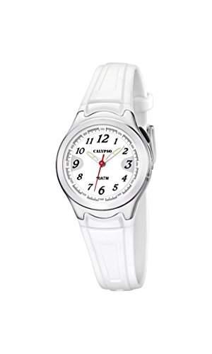 Calypso watches Damen-Armbanduhr XS K6067 Analog Quarz Plastik K60671