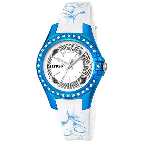 ORIGINAL CALYPSO Uhren by FESTINA zeit Gummi k5624 7