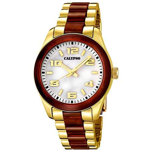 CALYPSO Damen-Uhr - Trend - Analog - Quarz - Kunststoff - UK56482