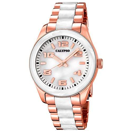 CALYPSO Damen-Uhr - Trend - Analog - Quarz - Kunststoff - UK56485