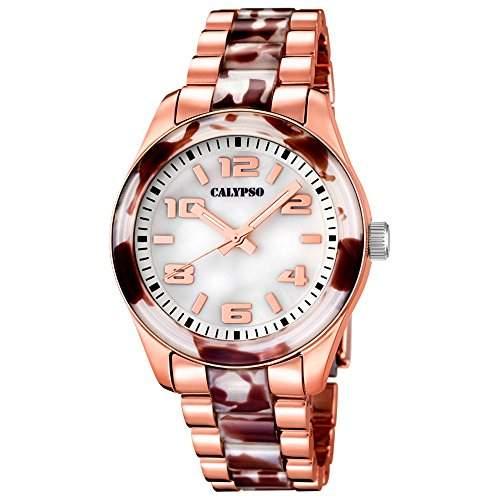 CALYPSO Damen-Uhr - Trend - Analog - Quarz - Kunststoff - UK5648B