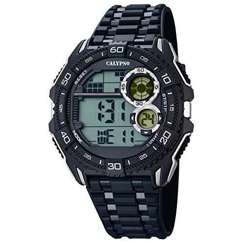 CALYPSO Herren-Uhr - Digital for Man - digital - Quarz - PU - UK56704