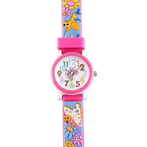 VIKI LYNN Kinder Farbigen Armband Uhr mit Schmetterling Armband