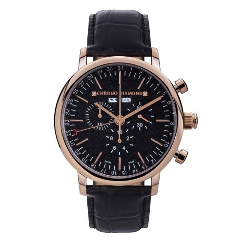 11200D Chrono Diamond Argos Rosegold IP