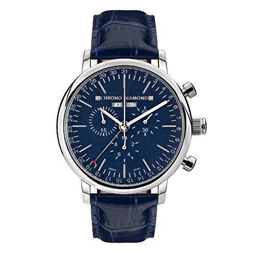 11200E Chrono Diamond Argos Stahl blau