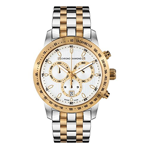 12100E Chrono Diamond Theseus Two Tone