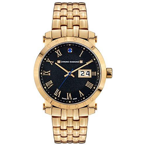 Chrono Diamond Armbanduhr 82178
