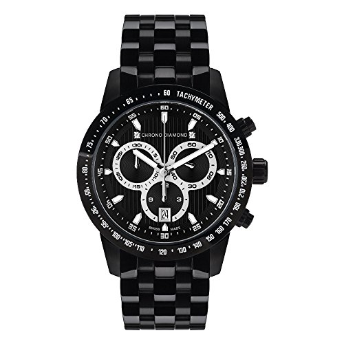 12100C Chrono Diamond Theseus Schwarz IP