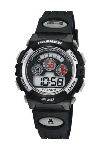 PASNEW Fashion LED Wasserdicht Sport Armbanduhr fuer Kinder Jungen Maedchen N6