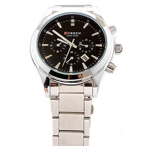Neueste Herren Uhr aus Edelstahl Curren Wei? Fashion Elegante Uhren Herren Luxusmarke Armband