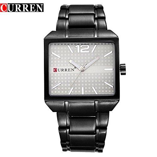 Wasserdicht Fashion Herren New Sports Quarz Analog Business Wasserdicht Armbanduhr 8132 G
