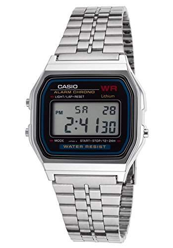 Casio Vintage Unisex-Armbanduhr Digital Quartz A159W-1D