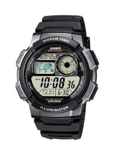 Casio Collection Herren-Armbanduhr Digital Quarz AE-1000W-1BVEF