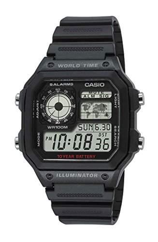 Casio Collection Herren-Armbanduhr Digital Quarz Resin AE-1200WH-1AVEF